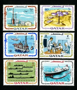 Qatar Stamps # 173-8 VF OG NH