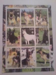 UDMURTIA SHEET USED DOGS
