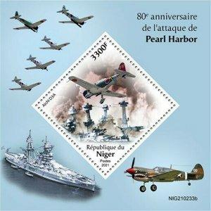 2021/06- NIGER -  PEARL HARBOR          1V    MNH **