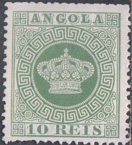 Angola #10 MNG
