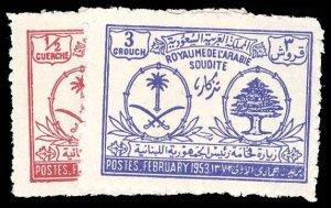 SAUDI ARABIA 192-93  Mint (ID # 95670)