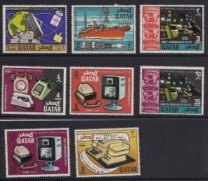 Qatar 244-251 Mint VF H to NH