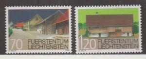 Liechtenstein Scott #1232-1233 Stamp - Mint NH Single