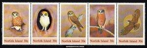 Norfolk Islands Scott 343a-343e Mint never hinged.
