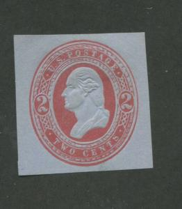 1883 United States Stamped Envelope Stationary #U245 Mint F/VF Cut Square