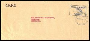 COOK IS 1965 OHMS cover MANIHIKI to Rarotonga..............................91971