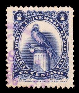 GUATEMALA STAMP 1954. SCOTT # 354. USED. # 8