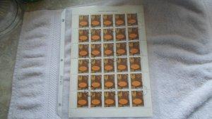 30 stamps of polan sheet. mnh