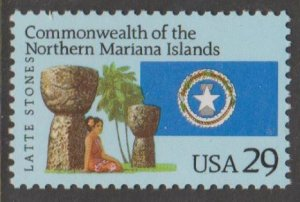 U.S. Scott #2804 Northern Mariana Islands - Latte Stones Stamp - Mint NH Stamp