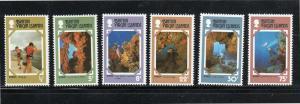 VIRGIN ISLANDS #327-332  1977  TOURIST PUBLICY   MINT VF NH O.G