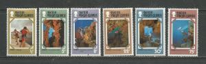 British Virgin Islands # 327-332 Unused HR