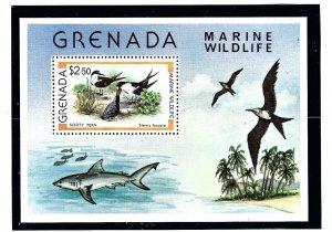 Grenada 941 MNH 1979 Marine Wildlife S/S    (KA)
