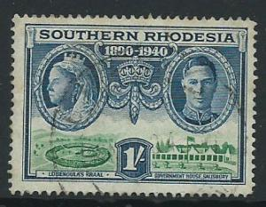Southern Rhodesia SG 60  Used