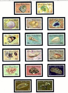 Cocos Is 135-50 MNH 1985-86 Definitive Set (Seashells)