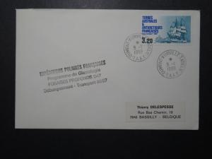 France TAAF 1988 Polaires Expedition Cover  - Z11110
