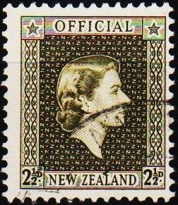 New Zealand. 1954 2 1/2d S.G.0162 Fine Used