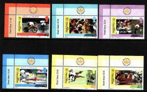 Isle of Man-SC#942-7-set-unused-NH-Commonwealth Games-2002-S
