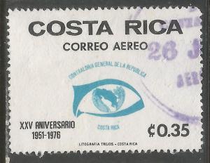 COSTA RICA C673 VFU 299D