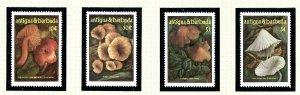 Antigua 958-61 MNH 1986 Fungi           (KA)