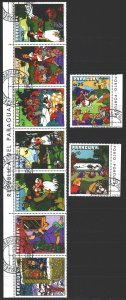 Paraguay. 1978. 3112-20. Fairy tales. USED.