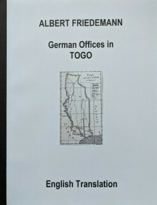 TOGO -  German Colonies Friedemann Stamps Postmarks English Translation