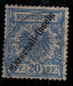 Marshall Islands 1897 SC 4 Mint SCV$ 180.00