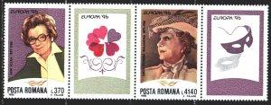 Romania. 1996. 5174-75. Aslan-doctor, Europe-sept. MNH.