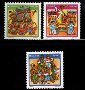 Brazil Scott 1756-1757 MNH** stamp set