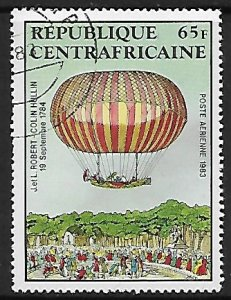 Central African Republic # C282 - Hot Air Balloons - used....(BRN8)
