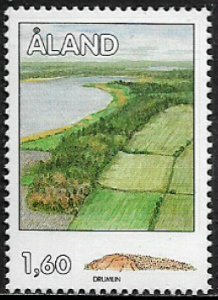 Finland - Aland Is #38 MNH Stamp - Geological Formations