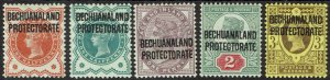 BECHUANALAND PROTECTORATE 1897 QV GB 1/2D - 3D