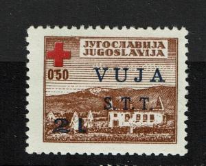 Yugoslavia Trieste SC# RA1, Mint Hinged, Hinge Remnant - Lot 083017