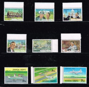 SAMOA STAMP I SISIFO MNH STAMPS COLLECTION LOT