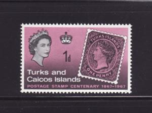 Turks and Caicos Islands 172 MNH Stamps on Stamps (B)
