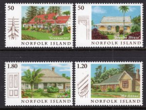 Norfolk Island 849-852 MNH VF