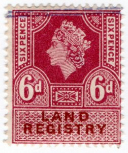 (I.B) Elizabeth II Revenue : Land Registry 6d