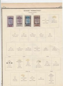 Niger Territory Stamps Ref 14600
