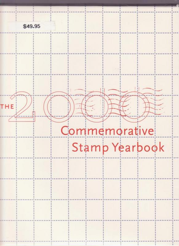 USPS 2000 Stamp Yearbook Complete w/ All Stamps MINT