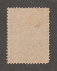Persia Stamp, Scott# 113, mint hinged, 1Kran, blue, Perf 12.5 x 12.0,#L-59