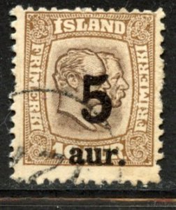 Iceland # 131, Used. CV $ 8.50