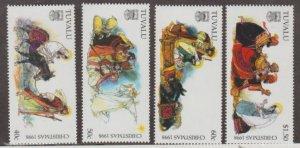 Tuvalu Scott #781-784 Stamps - Mint NH Set
