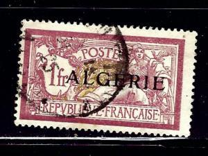 Algeria 28 Used 1924 overprint