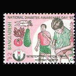 BANGLADESH 1995 - Scott# 484 Diabetes Day Set of 1 NH
