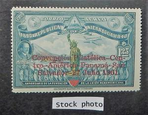 Nicaragua C493. 1961 Philatelic Convention, NH