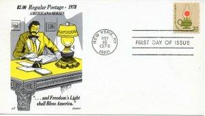 US FDC #1611 Lamp, Gamm (6062)