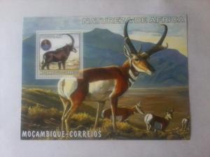 Mozambique MNH S/S Antelope Wildlife