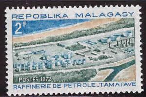 Madagascar Scott 475 MNH** Oil Refinery stamp