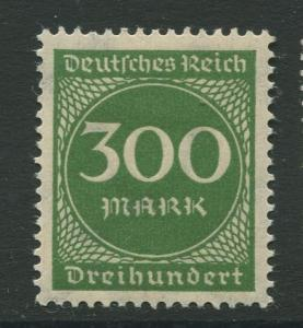 Germany -Scott 231 - Definitive Issues -1922 -  MLH - Single 300m Stamp
