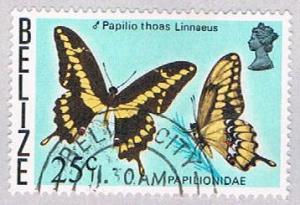 Belize 354 Used Butterflys 1974 (BP30419)