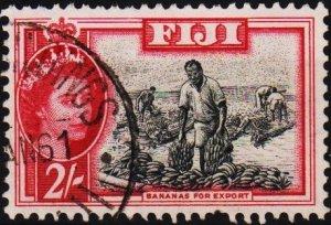 Fiji. 1954 2s S.G.291 Fine Used
